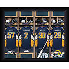 Personalized NHL Buffalo Sabres Locker Room Print