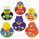 Super Hero Rubber Duckies