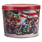 American Bikers Popcorn Gift Tin