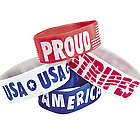 Patriotic Big Band Bracelets