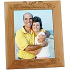 "25th Wedding Anniversary 8"" x 10"" Photo Frame"
