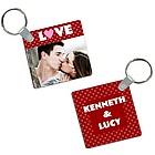 Love Photo Keychain