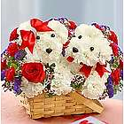 Lucky in Love Dog-Shaped Floral Arrangement