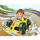 Race Car Caricature from Photos