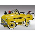 Deluxe Yellow Tow Truck Pedal Car
