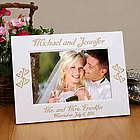 Engraved Mr. and Mrs. Wedding Frame