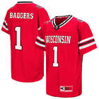 Youth's Wisconsin Badgers Red Jersey