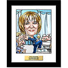 Fully Custom Nurse Caricature Artwork