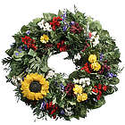 Pistoulet Tuscan Sunflower Wreath