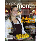 Employee of the Month Magazine Cover