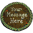 Personalized Message Giant Cookie Cake