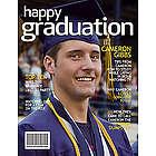 Personalized Graduation Digital Magazine Cover