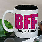 Personalized BFF Coffee Mug