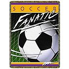 Fanatic Soccer Tapestry Throw
