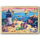 Little Mermaids of Nantucket and Cape Cod Wooden Puzzle