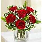 Love's Embrace Red Rose Bouquet