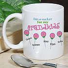 Personalized Sucker for My Kids Mug