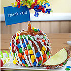 Big Thank You Caramel Apple with Candies