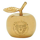 Solid Brass Gold Apple Bell