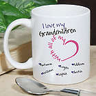 Personalized With All My Heart Mug