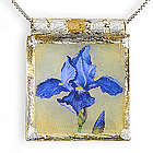 Siberian Iris Necklace