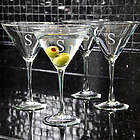 Personalized Martini Glasses