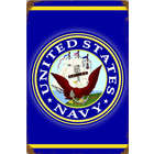 US Navy Metal Sign