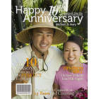 10th Anniversary Personalized Magazine Cover