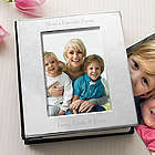 Engraved Silver-Plated Picture Album for Her