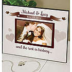 Personalized Printed Wedding Frame
