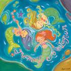 Mermaid Lagoon Wall Art Canvas Reproduction