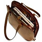 Women's Italian Croco Business Tote