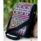 Hmong Pride Cotton Shoulder Bag
