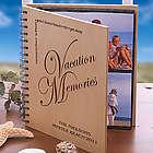 Vacation Memories© Wood Photo Album