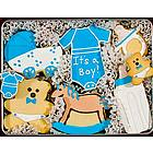 It's a Boy Sugar Cookie Gift Tin