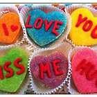 Conversation Heart Sugar Cookie Gift Box