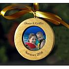 Personalized Family Photo Ornament