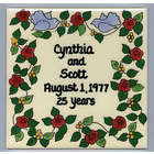 Personalized Ceramic Anniversary Tile