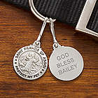 Personalized St. Francis Dog Tag Medal