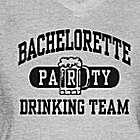 Bachelorette Party Drinking Team Women's V-Neck Tee