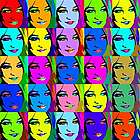 Pop Art 25 Panel Print from Photo