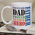 Dad My Hero Coffee Mug