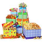 International Happy Birthday Candy Gift Tower