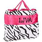 Zebra Stripes Nap Bag