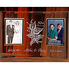 Personalized Double Photo Wedding Anniversary Frame