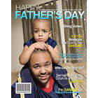 Father's Day Personalized Magazine Cover Print