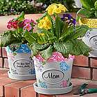 Personalized Mosaic Flower Pot