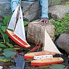 Spruce Wood Toy Boat