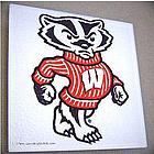 Go Bucky Glass Trivet