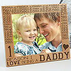 Reasons Why For Him Large Personalized Picture Frame